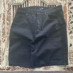 Frank + Oak Denim Skirt